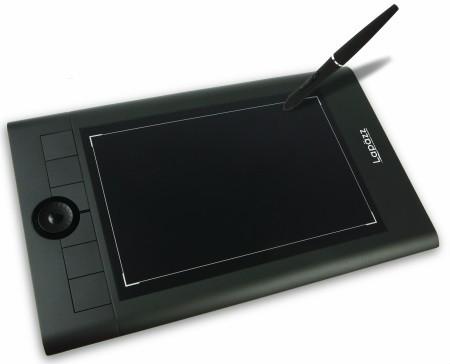 Lappzaเม้าส์ปากกา Graphic Tablet-Pen Mouse MNA62 10x6.25นิ้ว ไม่ต้องใส่ถ่าน-black