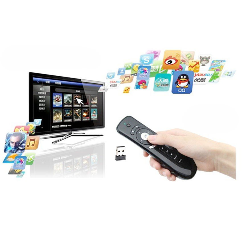 Air mouse Remote android tv box SmartTv