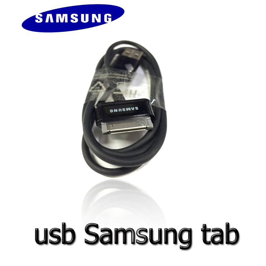 Samsung สายชาร์จ usb galaxy tab 1m แบบดี