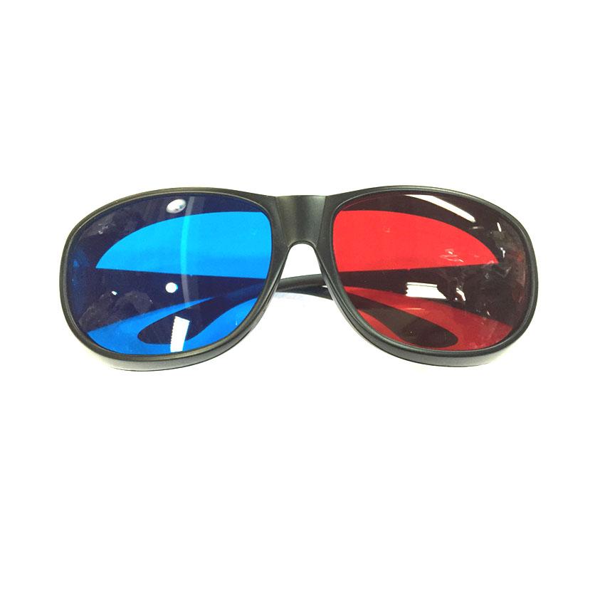 แว่นสามมิติ 3D CLASS แดงน้ำเงิน ดู เกม ภาพยนตร์ 3D youtube -black