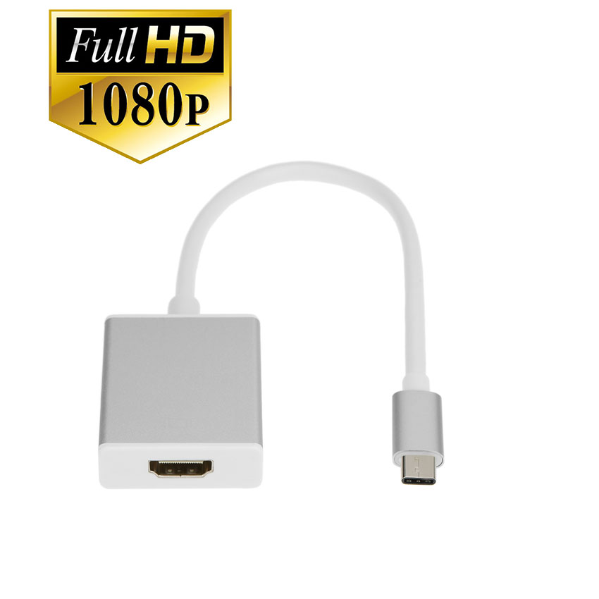 usb 3.1 Type C to hdmi 4k for macbook chromebook microsoft lumia