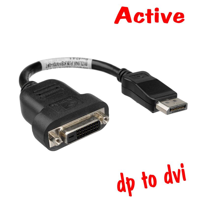 Bizlink Displayport To Dvi-d แบบ Active ใช้งาน3จอขึ้นไป